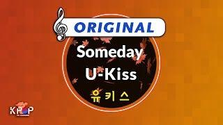 [KPOP MR 노래방] Someday - 유키스 (Origin Ver.)ㆍSomeday - U-Kiss