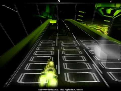 Audiosurf: Zero Point Run: Bad Apple (Instrumental) - Alstroemeria Records
