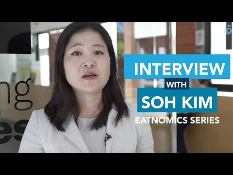 Interview with Soh Kim, Food Design Research Executive Director at Stanford University.
