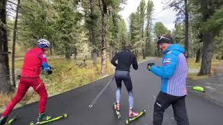 Сборная России по биатлону Сбор на Семинском перевале 2
