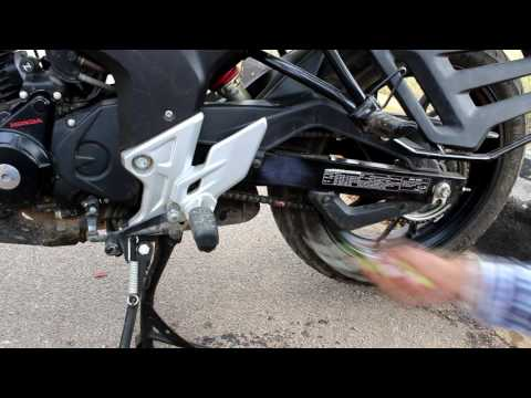 Chain cleaning for Hornet, FZ, FZ-s , Gixer , Duke, Royal enfield, Apache, Pulsar 200NS, R15