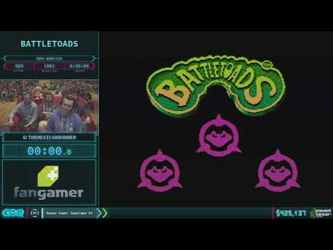 Battletoads by TheMexicanRunner in 29:04 - AGDQ 2018 - Part 76