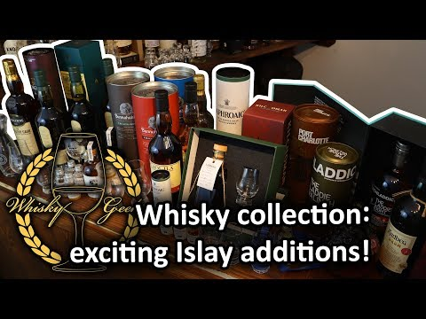 Islay Whisky Haul! Adding Something Special To The Collection