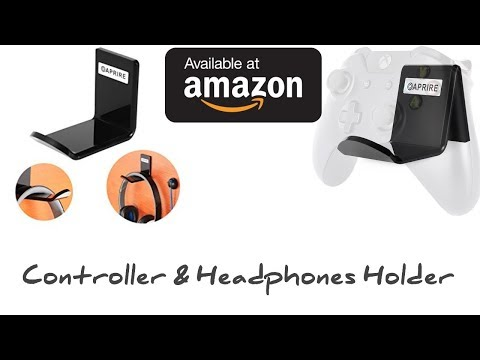 Oaprire Xbox One X Controller and Headphone Holder