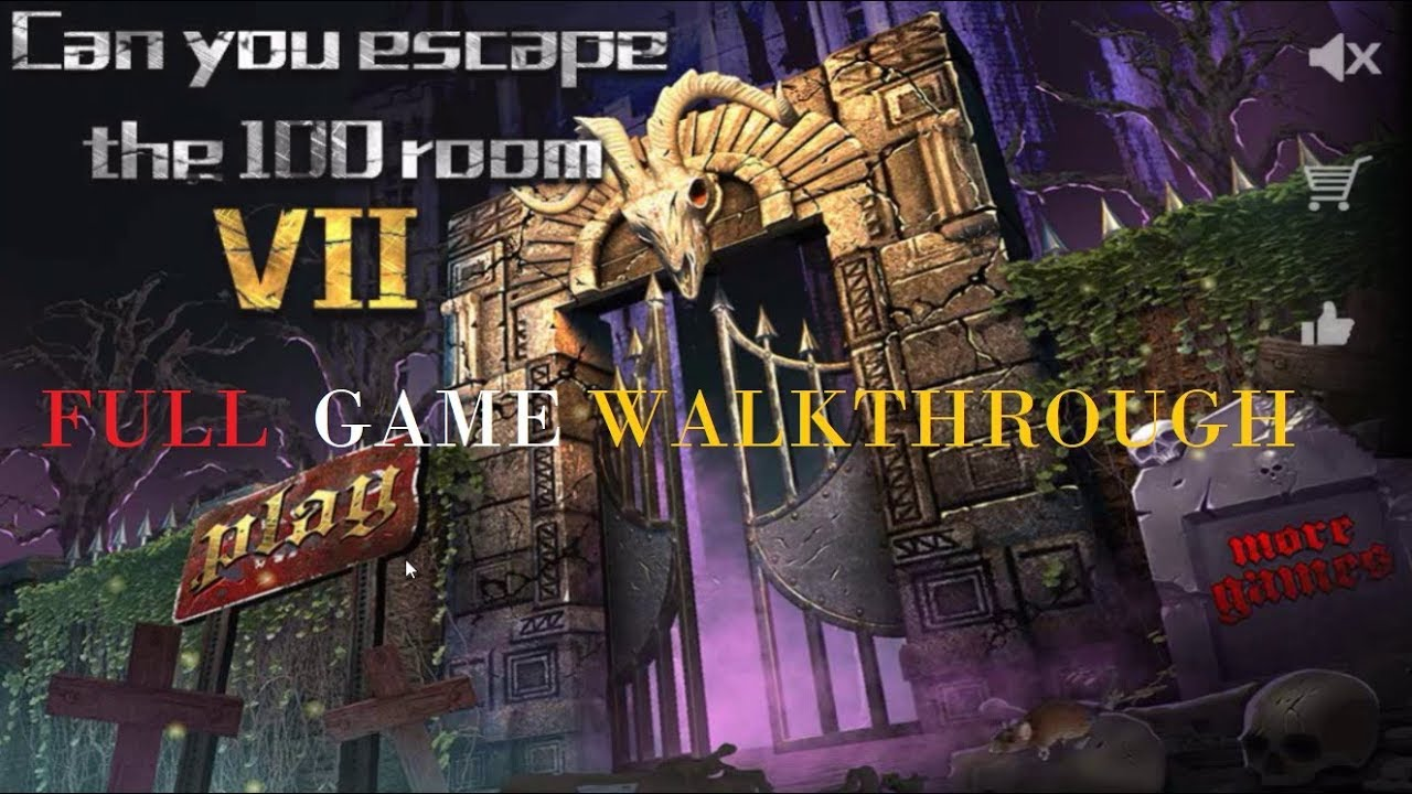 Can You Escape The 100 Room 7 Vii Walkthrough Full Youtube