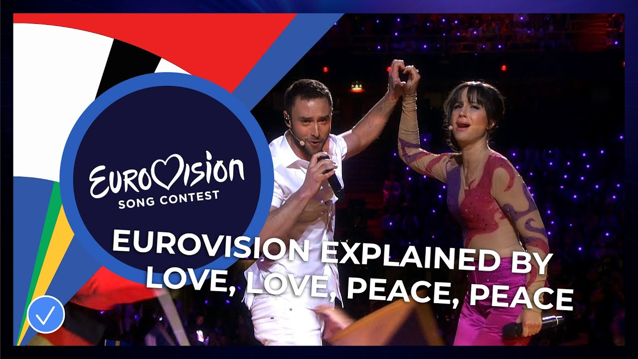 Eurovision explained by 'Love Love Peace Peace'   – Part 1