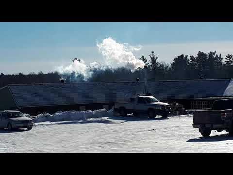 Wood Boiler Smoking. Sharbot Lake.