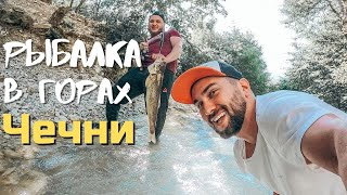 Ловим и готовим форель в горах Чечни