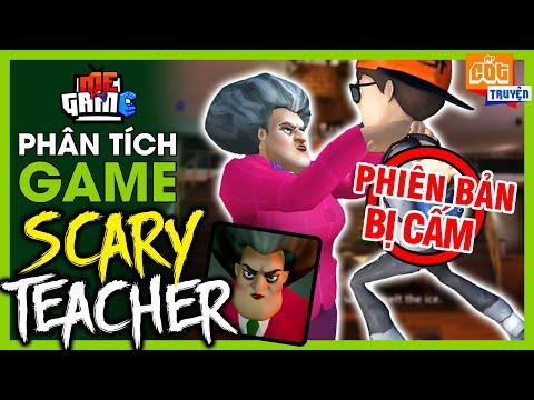Phân Tích Game: Scary Teacher 3D - Bí Ẩn Phiên Bản Bị Cấm   meGAME