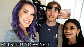 Interview With Local News ABC 13! | weekend vlog 56.1
