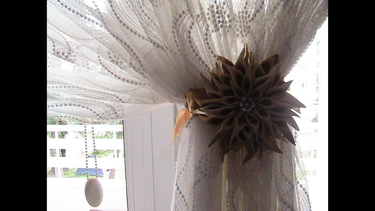 Artık Kumaşlardan Dekoratif Perde Yapımı