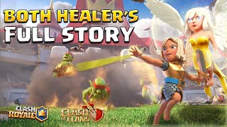 BOTH Healer's FULL Origin Story | How the Peaceful Healer became the BATTLE HEALER!