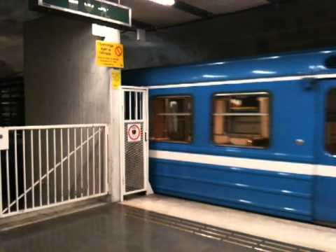 Kort Tag C6 Vid Morby Centrum Stockholm Subway Youtube