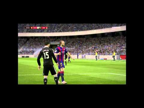 Fifa 15 FC Barcelona vs Real Madrid