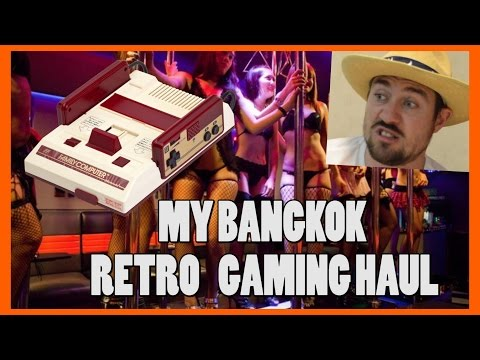My Bangkok Retro Gaming Haul! - Top Hat Gaming Man