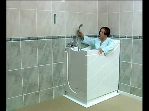 Little Gem Walk in Bath Compact and Space Saving Bath YouTube