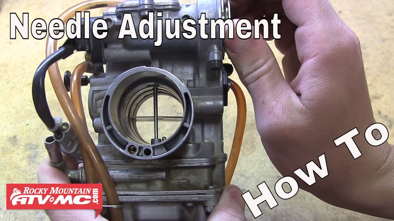 How To Adjust The Needle In Your Motorcycle Or Atv Carburetor Youtube Crf 250 Wiring Diagram