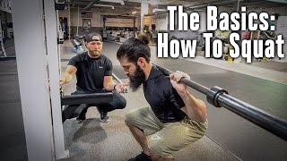 The Basics: How To Squat | OpTic Strength