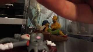 Обзор и распаковка фигурки:Шикотка и Царапка из сериала Симпсоны.