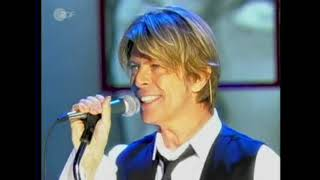 David⚡Bowie - Everyone Says 'Hi', live on German TV, 2002