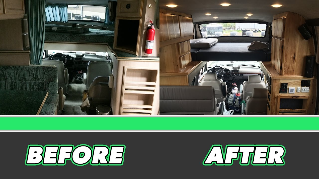 Project Revcon Part Two: INTERIOR (BEFORE & AFTER!!)