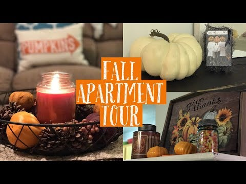 MY FALL APARTMENT TOUR | INEXPENSIVE FARM HOUSE FALL DECORATING