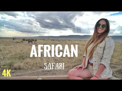 2017 African Safari Masai Mara MUST WATCH 4K