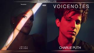 Ariana Grande x Charlie Puth - breathin / Attention [MASHUP]