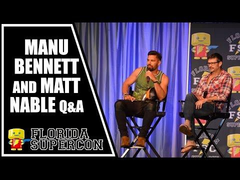 Manu Bennett and Matt Nable Q&A at Florida Supercon 2015
