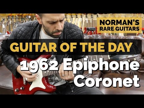 Guitar of the Day: 1962 Epiphone Coronet   Norman's Rare Guitars