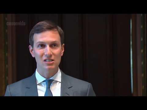 Jared Kushner Makes First RARE Public Remarks as President Trump Senior Advisor 6/19/2017