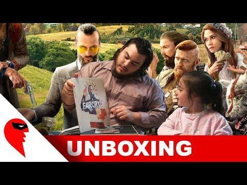 Far Cry 5 Mondo Edition Unboxing