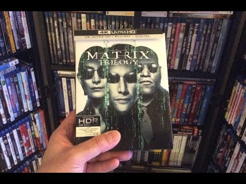 The Matrix Trilogy 4K BLU RAY REVIEW + Unboxing