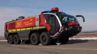 Мегамашины - Аэродромная пожарная машина Oshkosh Striker 3000