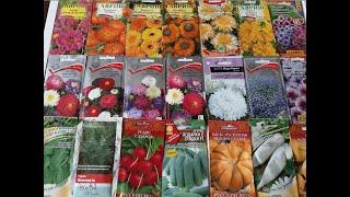 Обзор семян овощей и цветов на сезон 2020.Для огорода без хлопот
