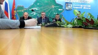 Пресс-конференция по трагедии в Брянске-1