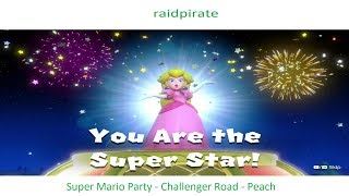 Super Mario Party - Challenge Road - Peach