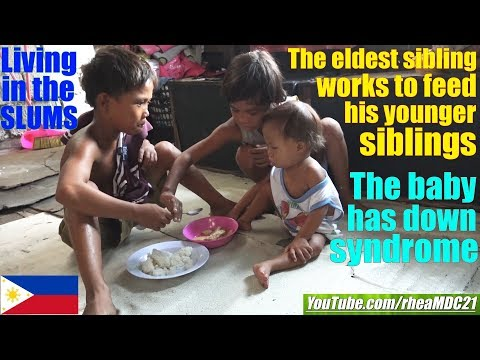 These Poor Filipino Kids are Living in Extreme Poverty. Travel to Manila Philippines. Manila Slums