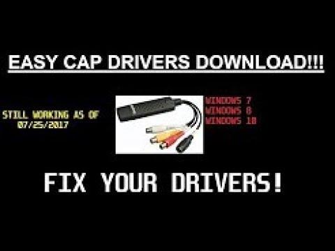easycap drivers for windows 7 64 bit download