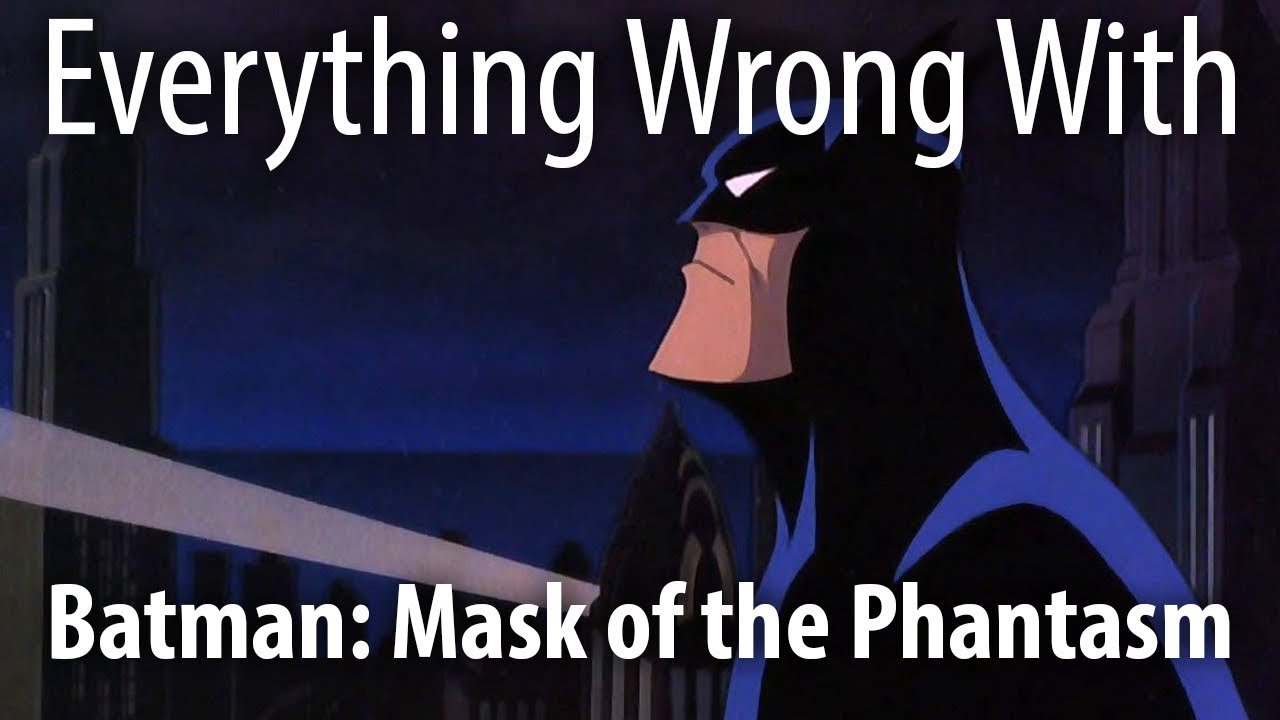 Download Everything Wrong With Batman: Mask of the Phantasm