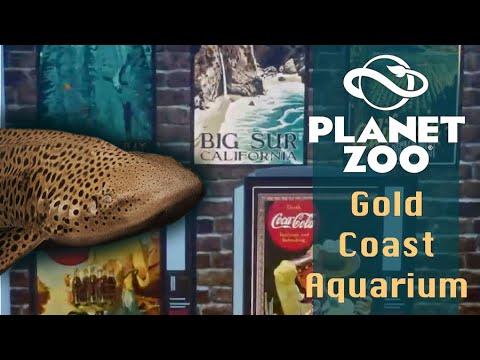 Ep.6 | SHARKS+ BILLBOARDS! | Gold Coast Aquarium | Planet Zoo |