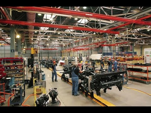 Завод Мерседес-Бенц в Набережных Челнах