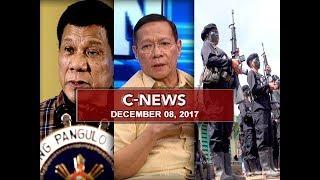 UNTV: C-News (December 8, 2017)