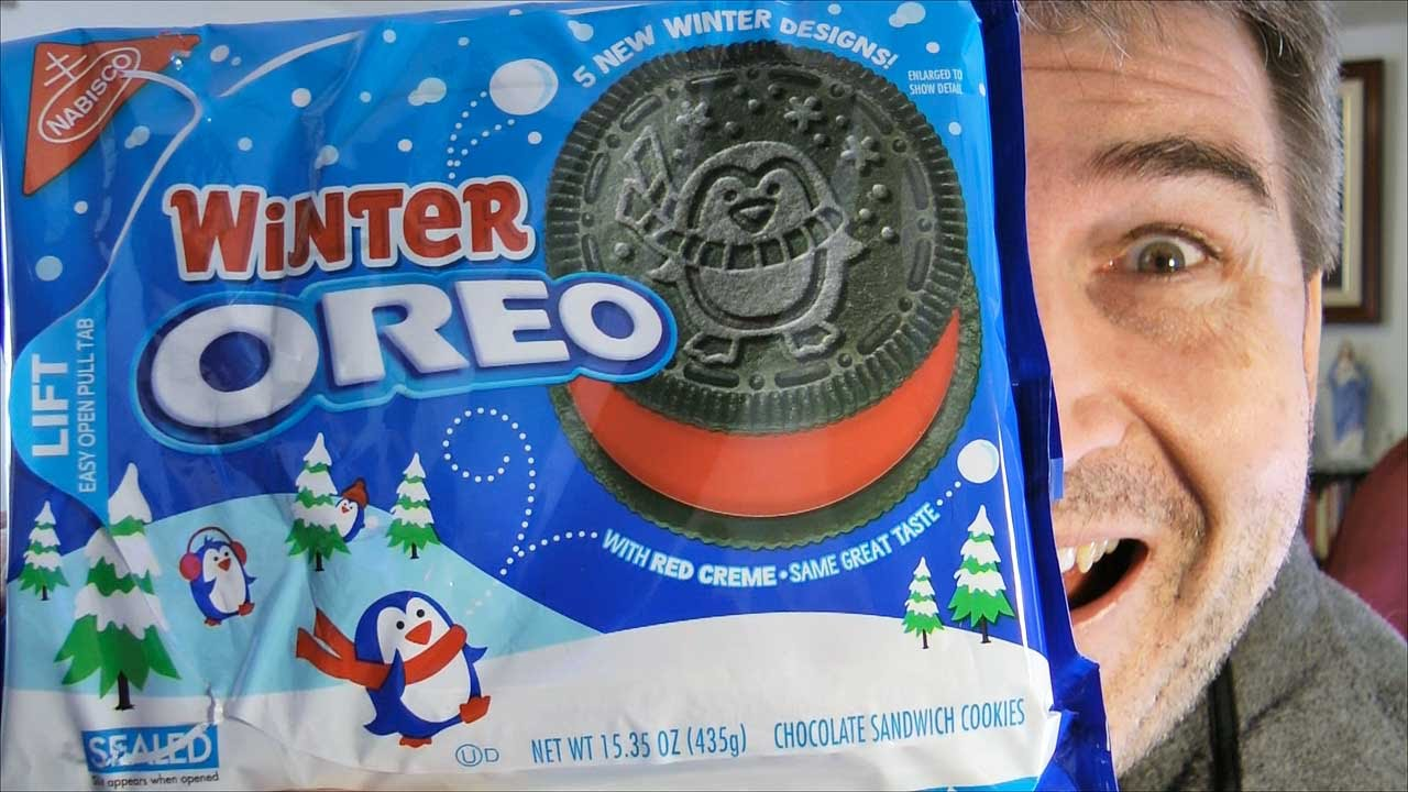 Winter Oreo REVIEW - Christmas Cookies! - YouTube