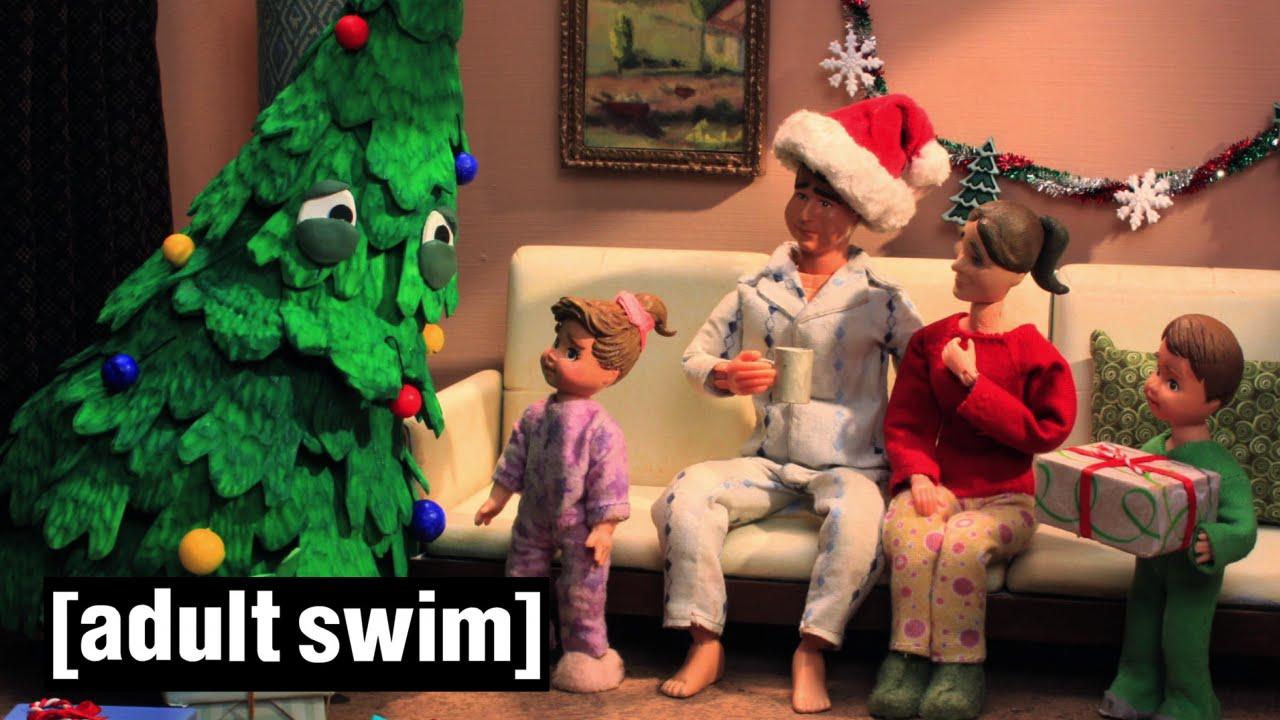robot chicken christmas tree
