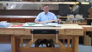 Foster Workbench - Using Benchtop As A Drafting Table
