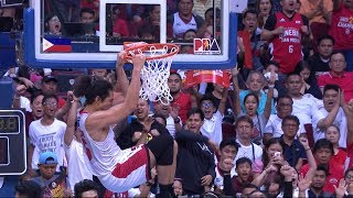 Aguilar throwdown | PBA Governors' Cup 2019 Finals