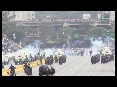 Au Venezuela, les manifestations et les affrontements avec la police se poursuivent
