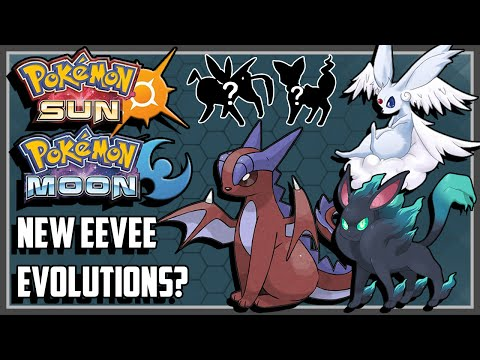 Pokemon Sun and Moon NEW Eeveelutions!