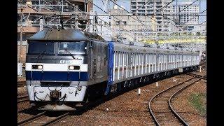 8862レ EF210-121+東京メトロ17000系(17102F)甲種輸送 熱田にて
